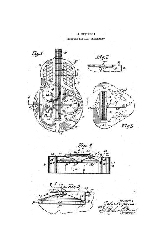 J dopyera national guitar 1920s patent art by guitarspatents 499 j dopyera national guitar 1920s patent art by guitarspatents cheapraybanclubmaster Gallery