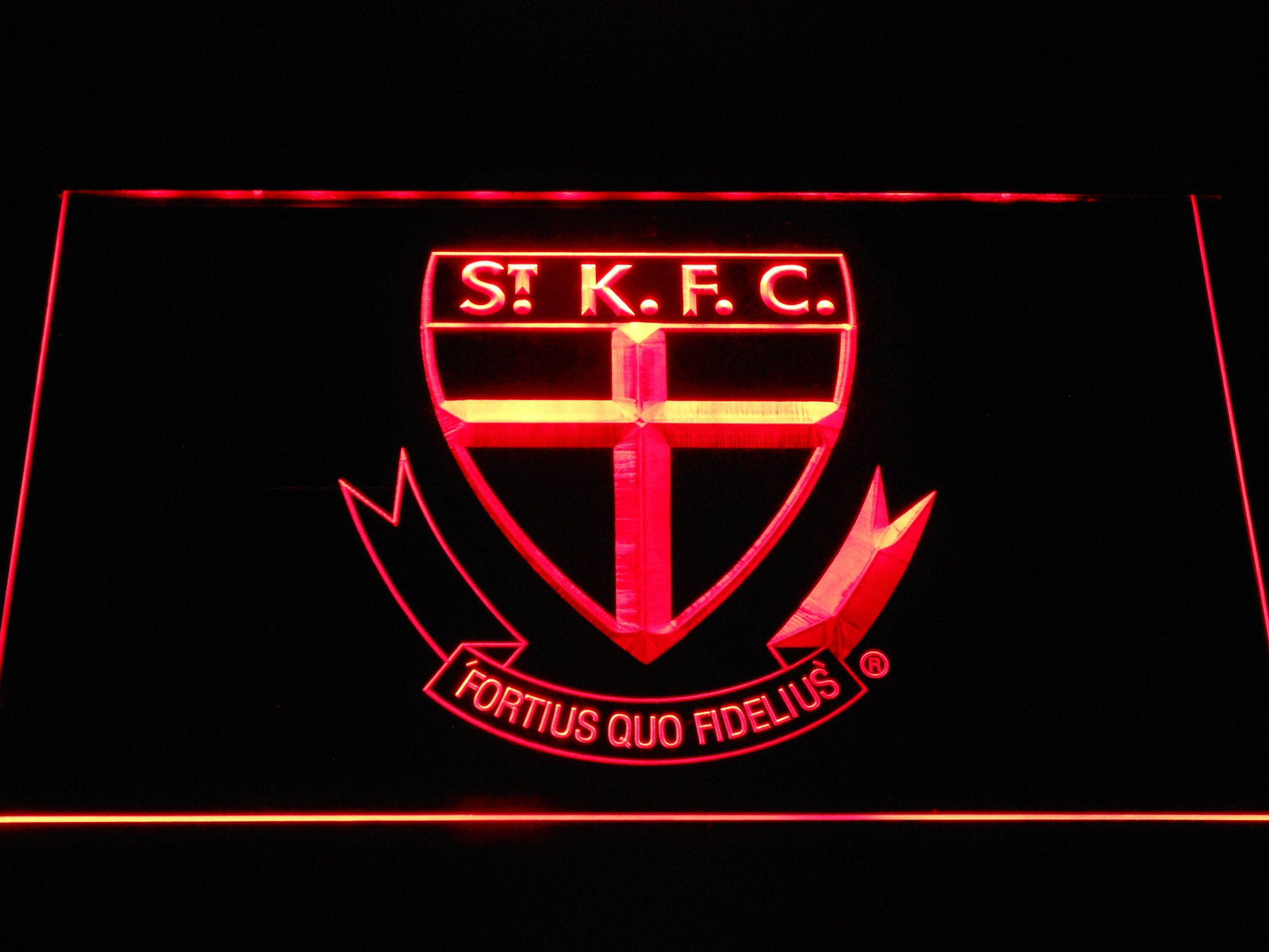St Kilda Football Club Led Sign Led Neon Signs Neon Signs Led Signs