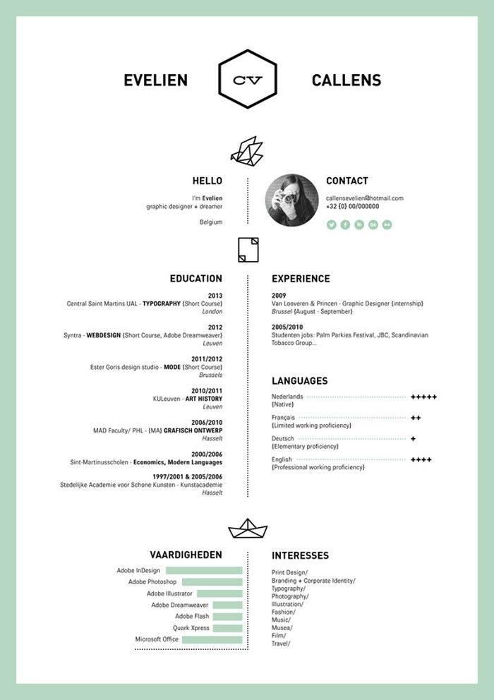 resume cv templates 12