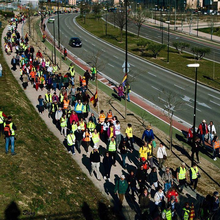 """Sebastián Martin Recio ha añadido 10 fotos nuevas. ...Y los medios de comunicación silenciando estas movilizaciones LAS MARCHAS DE LA DIGNIDAD, EN CAMINO HACIA MADRID Las Marchas de la Dignidad, en camino hacia su """"conquista de Madrid"""""""