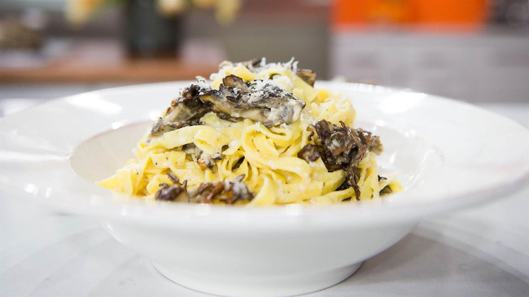Vegetarian pasta with mushrooms: Tim Love's recipe is hearty, quick and easy