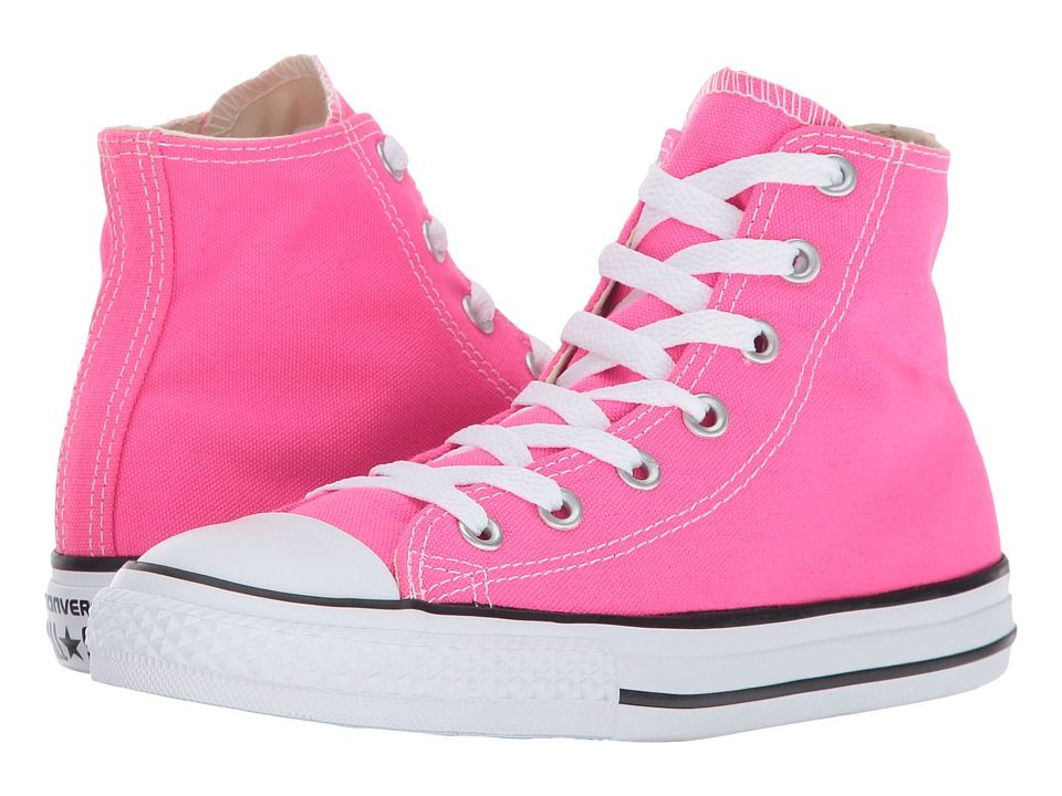 a0190babf503 Converse Kids Chuck Taylor All Star Hi (Little Kid) Girl s Shoes ...