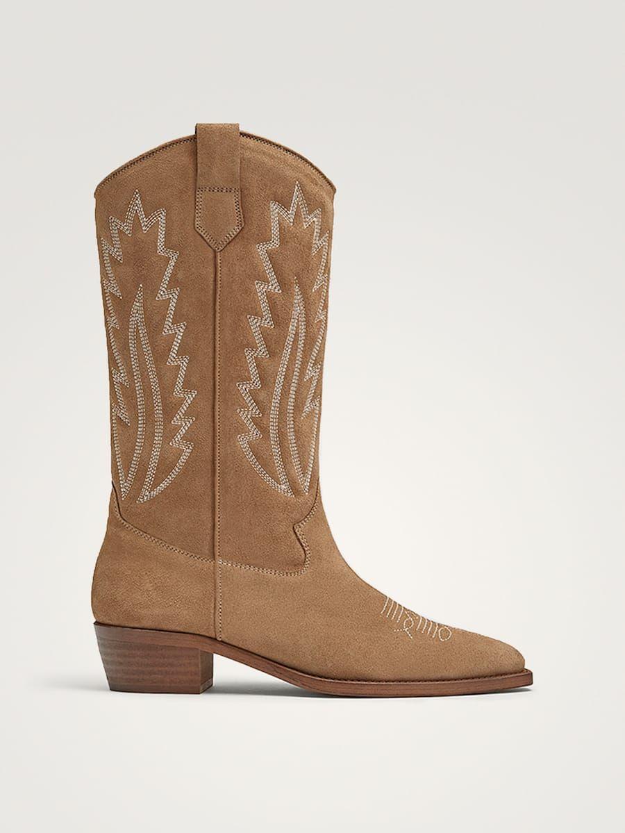 View All Shoes Collection Women Massimo Dutti United Kingdom Botas Cowboy Mujer Botas Vaqueras Mujer Botas Vaqueras