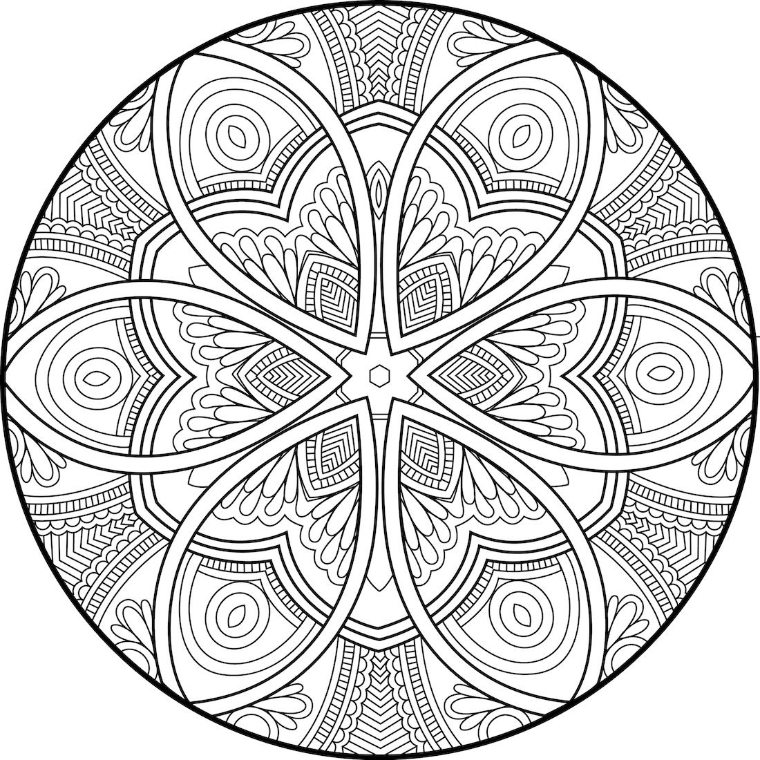 Pin de Jade Macintyre en Colour Me | Pinterest | Mandalas, Colorear ...
