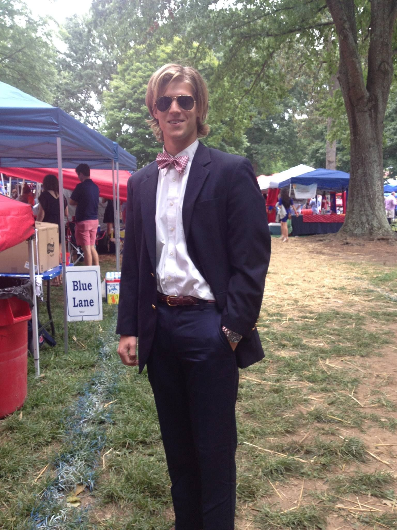 Blue Day, Ole Miss Football Tailgate in the Grove,  September 13