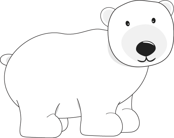 polar bear bear clip art pinterest polar bear bears and winter rh pinterest com polar bear hunting clipart polar bear images clipart