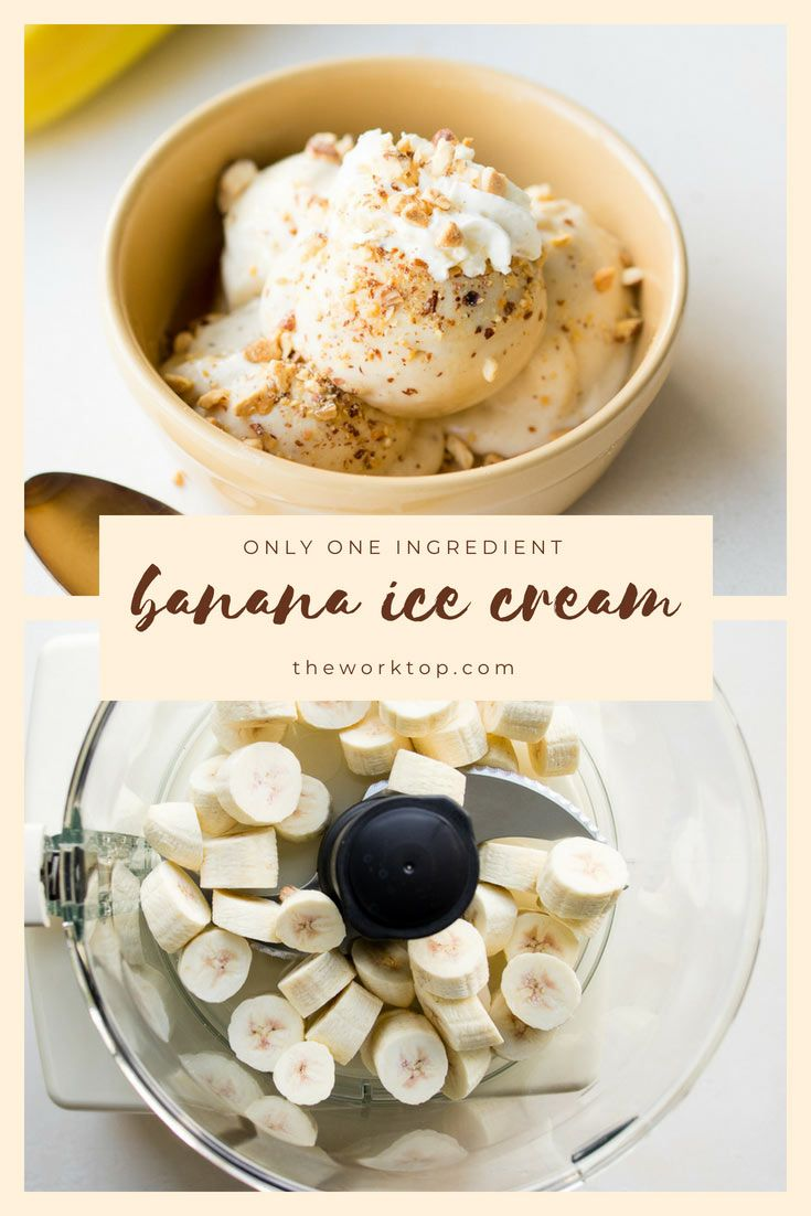 Low Fat Banana Ice Cream