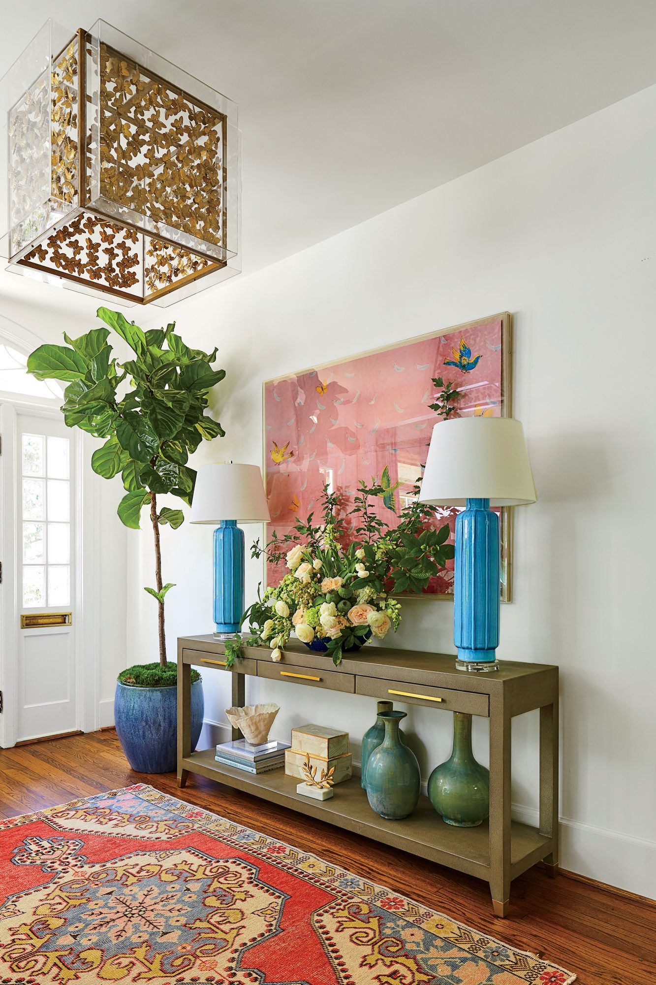 Watch This Historic Colonial Home Gets A Modern Makeover Coastal Living Rooms Home Home Decor