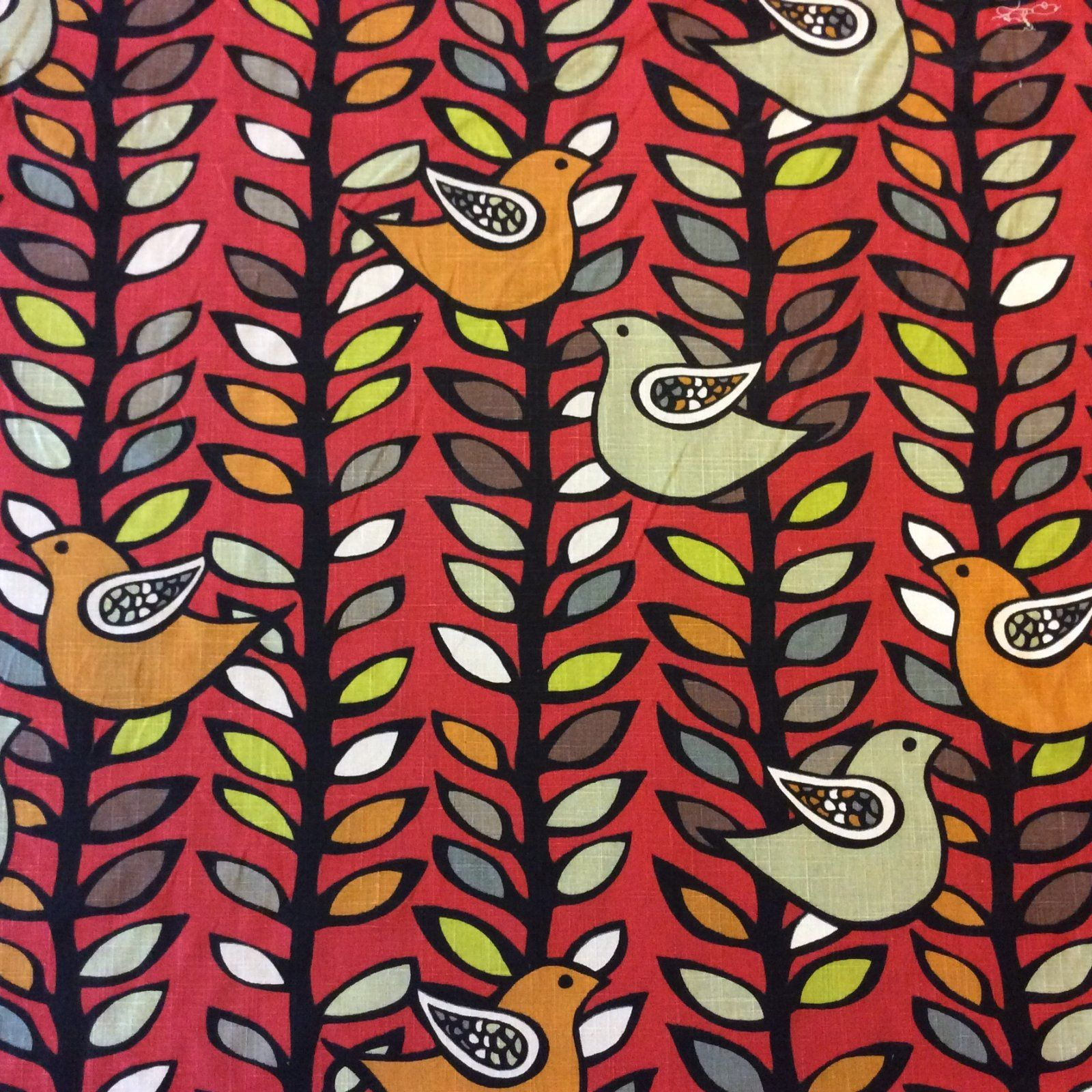 Scandinavian Mid Century Modern Style Graphic Bold Bird Fabric He Mid Century Modern Upholstery Fabric Modern Upholstery Fabric Scandinavian Mid Century Modern
