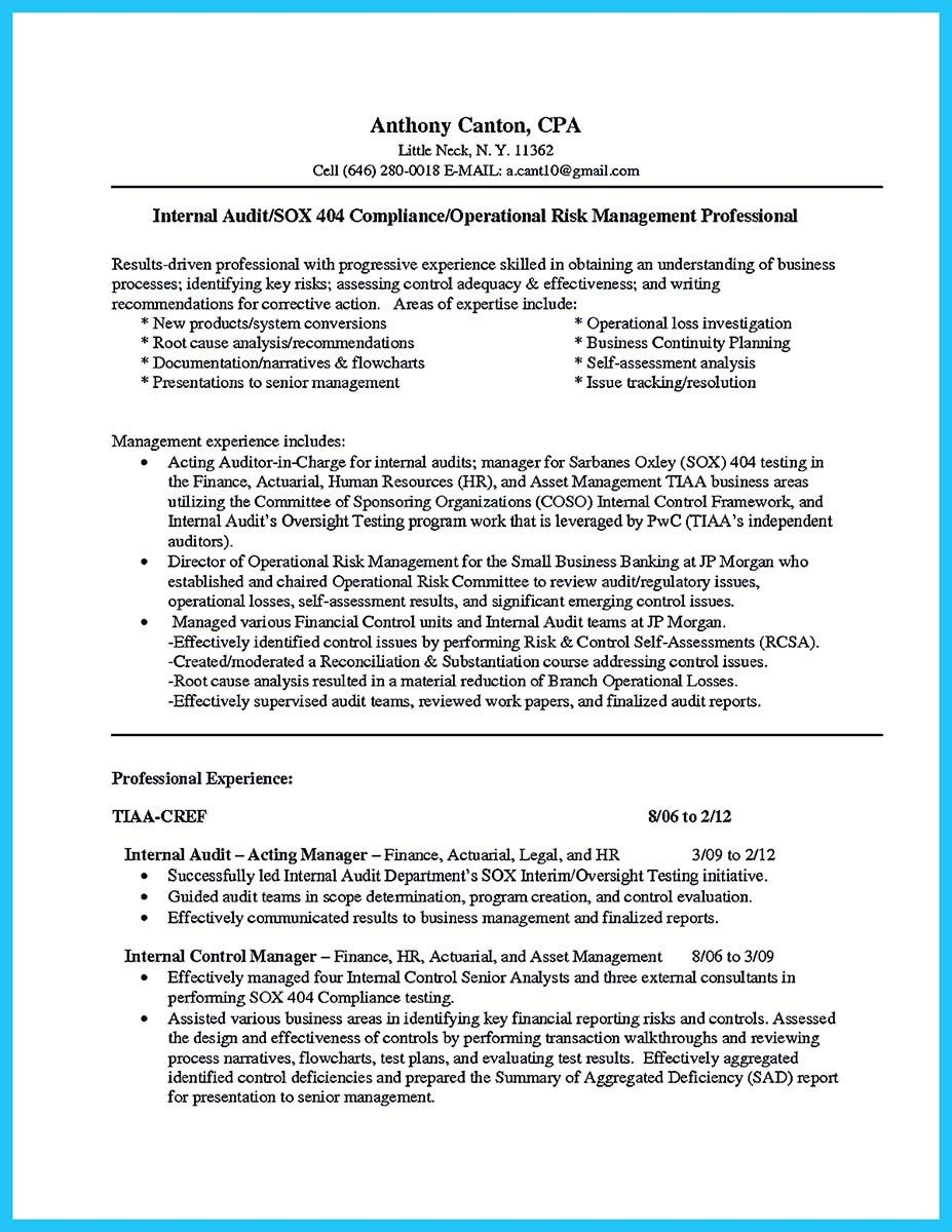 awesome Understanding a Generally Accepted Auditor Resume, | resume ...