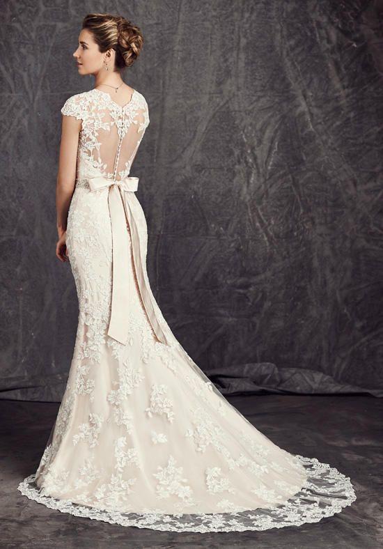 7adb2c48c72b Kenneth Winston  Ella Rosa Collection BE277 Wedding Dress - The Knot ...