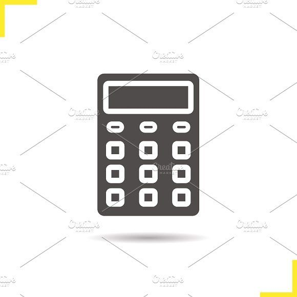 Calculator icon  Vector by Icons Factory on @creativemarket | Icons