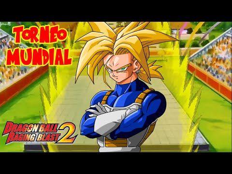 Dragon Ball Raging Blast 2 : TORNEO MUNDIAL CON SUPER SAIYAJIN TRUNKS ! EL HEREDERO DE VEGETA - YouTube