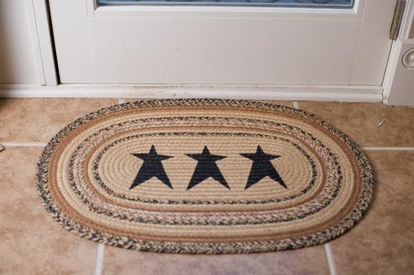 Stencil Rug - Kettle Grove Star