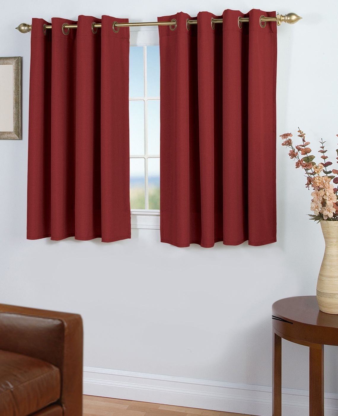 40 Long Kitchen Curtains