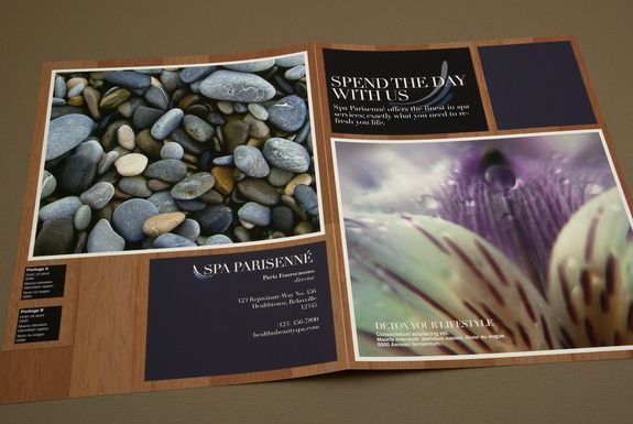 Outside Spa Brochure  Design    Brochures Spa And