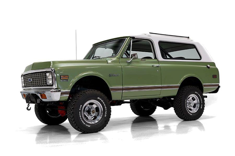 Good as New: Fully Factory Restored 1971 Chevrolet Cheyenne Blazer | Man of Many