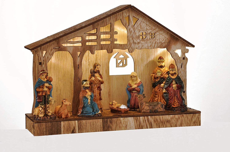 Weihnachtsdeko Krippe