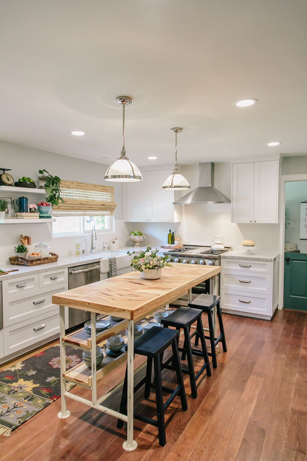 This kitchen island designed & custom made by ...
