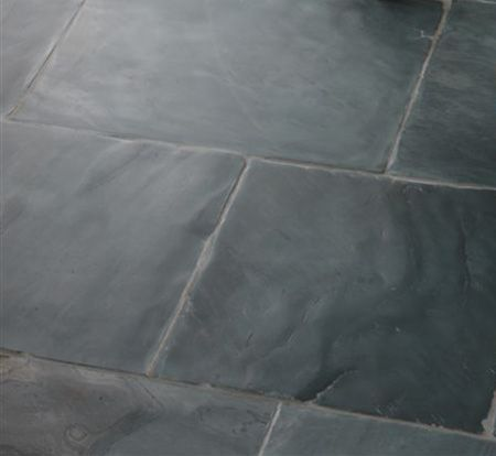 Fair Dark Gray Ceramic Floor Tile Cabin Bathroom