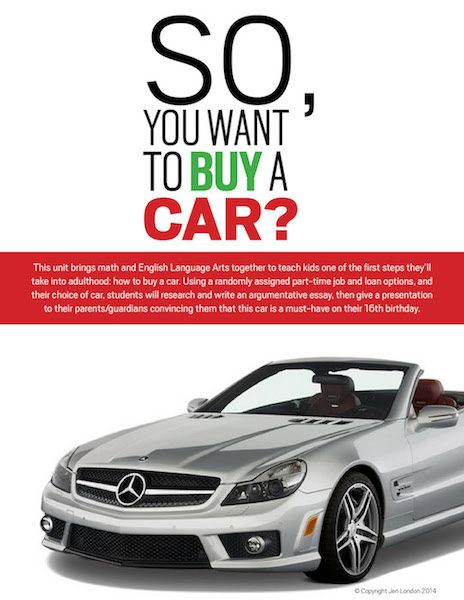 Persuasive essay on buying a new car