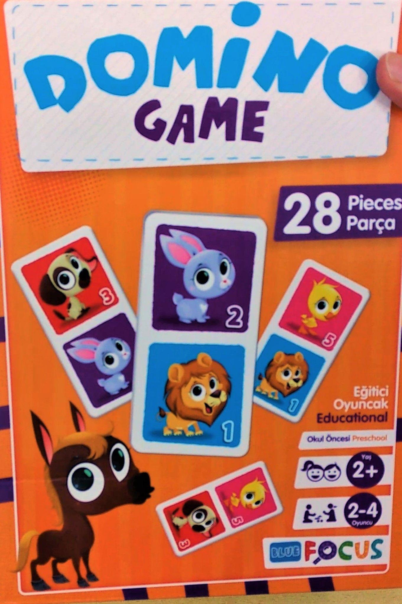 Resimli Domino Oyunu Oyun Oyuncak Oyunlar
