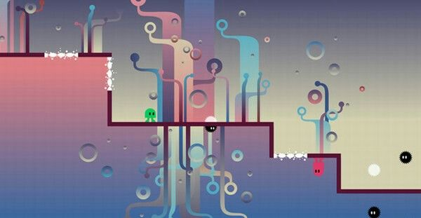Abstract Styling Reference Game 2d Retro Gaming Game Art