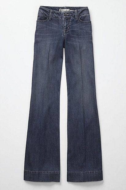 9ac8953c2e Wide-leg trouser jeans from Anthropologie--love, love, love anthropology
