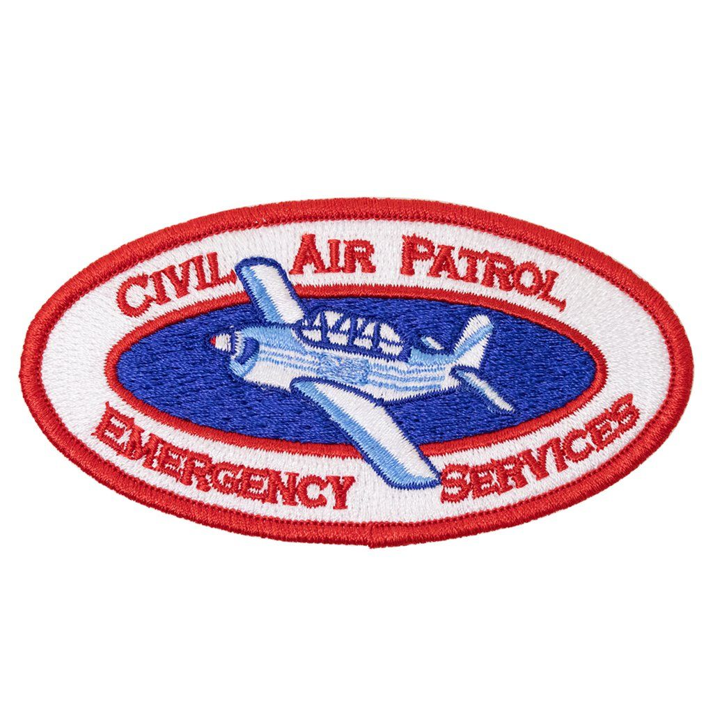 Emergency Services Patch (Oval) Emergency service