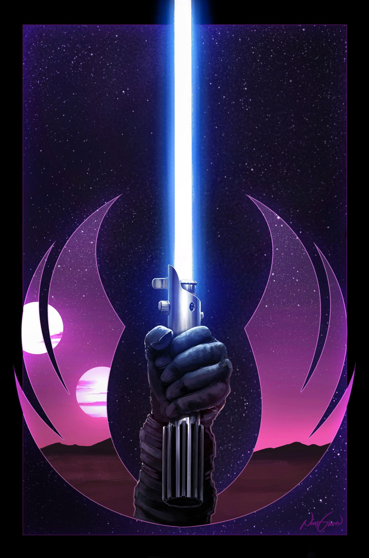 Artstation Anakin Skywalker Jedi Symbol Nihat Gokcen Star Wars Pictures Star Wars Wallpaper Star Wars Poster