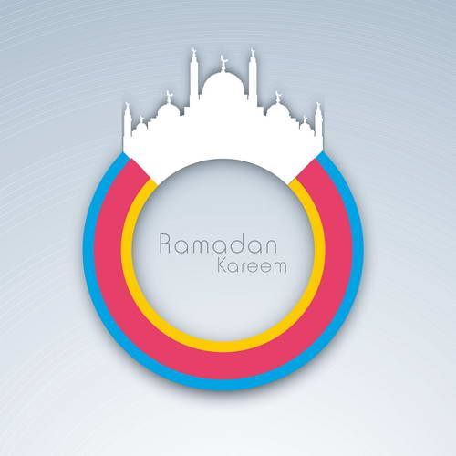 أول وأكبر مدونة عربية تضم كورسات عربية واجنبية لمختلف برامج التصميم والمونتاج Ramadan Kareem Ramadan Greeting Cards