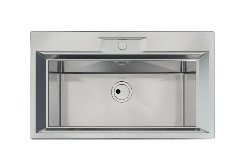 Vasca Da Cucina In Acciaio : Come arredare la cucina il lavello a vasca unica in acciaio senza