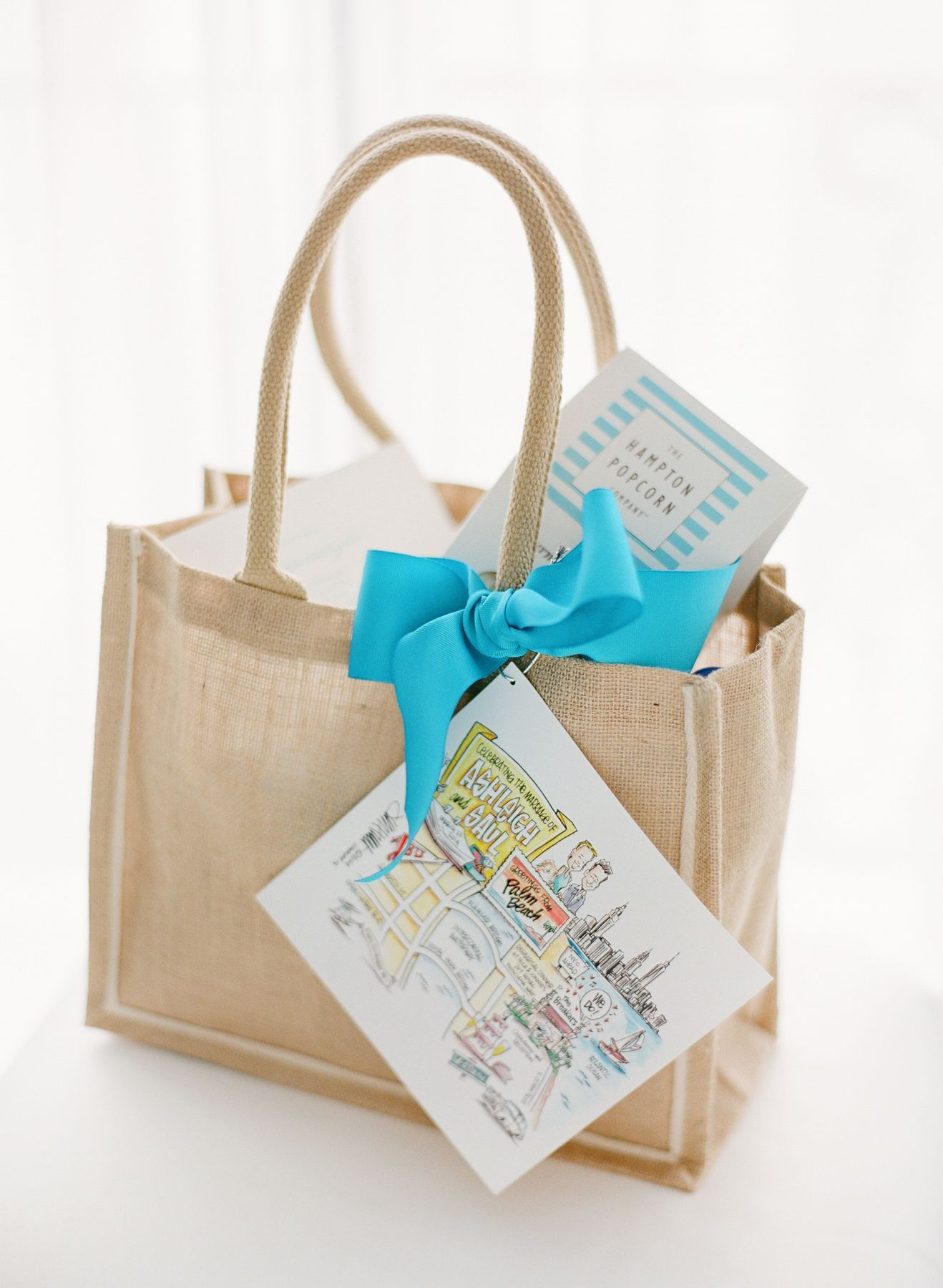 Wedding Bag Gift Ideas: Soft-Hued Spring Wedding At The Breakers In Palm Beach