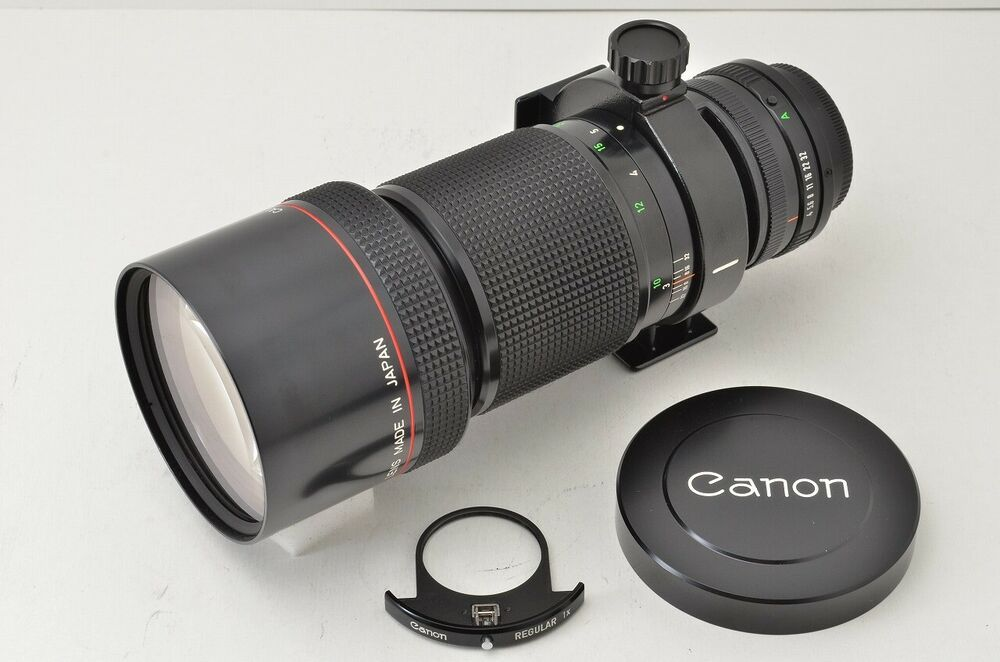 Excellent Canon Nouveau Fd 300mm F4l Telephoto Mf Objectif Pour Fd Support Stuff To Buy Category Binoculars