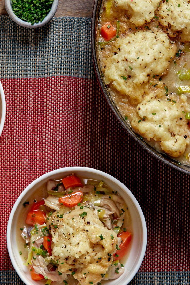 Chicken And Dumplings Recipe Recipe Comfort Dishes Recipes Nyt Cooking