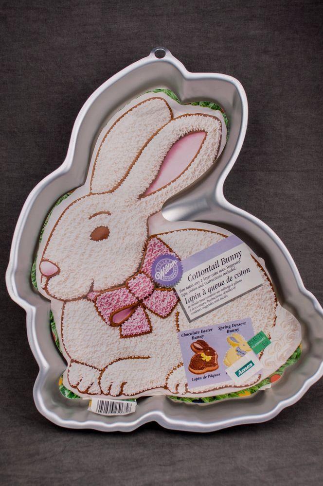 Wilton Cottontail Rabbit Easter Bunny Cake Pan 2105 175 W
