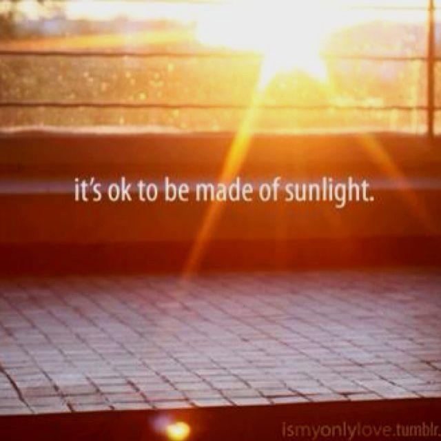 je suis le soleil