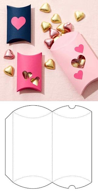 120 Molde de caixa de papel para Imprimir: Vários Modelos - Como Fazer