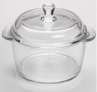 Source High Quality Borosilicate Clear Pyrex Glass Cooking Pot On M Alibaba Com Pyrex Glass Cookware Set Glass