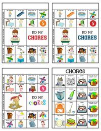 picture relating to Printable Chore Chart for 5 Year Old identified as 5 Yr Outdated Chore Chart Printable Education the infants