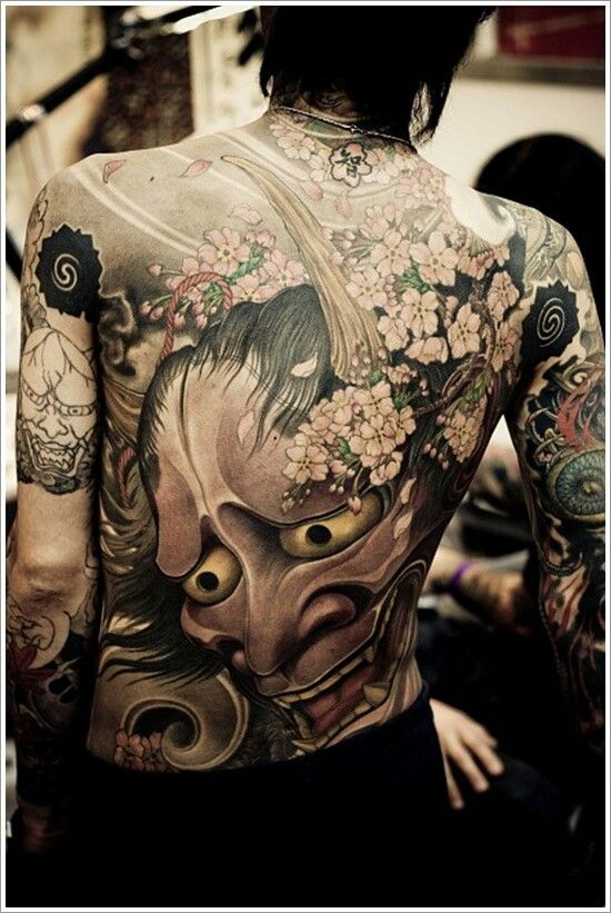Japanese back demon