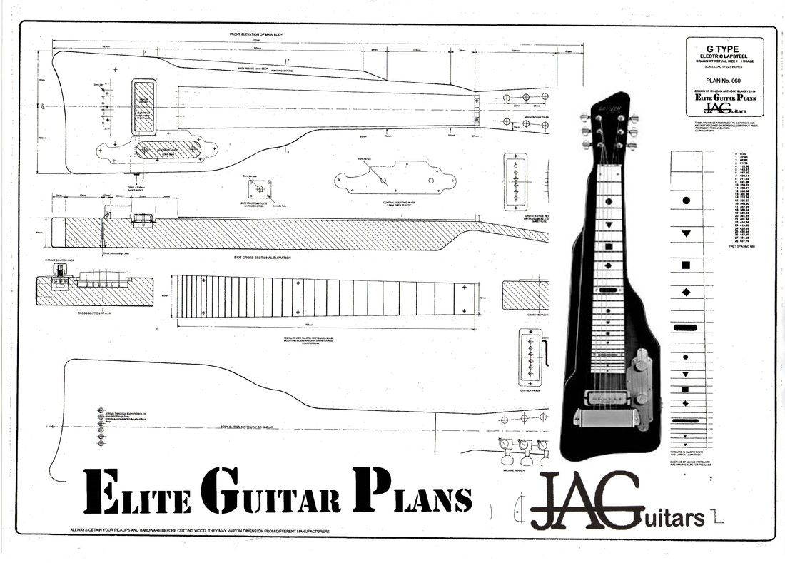 Plans To Build This Danelectro Style Steel Guitar