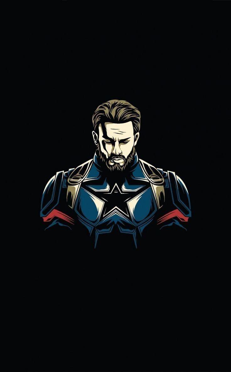 Captain America Hd Phone Wallpaper Mara E Captain America Wallpaper Captain America Art Marvel Superhero Posters