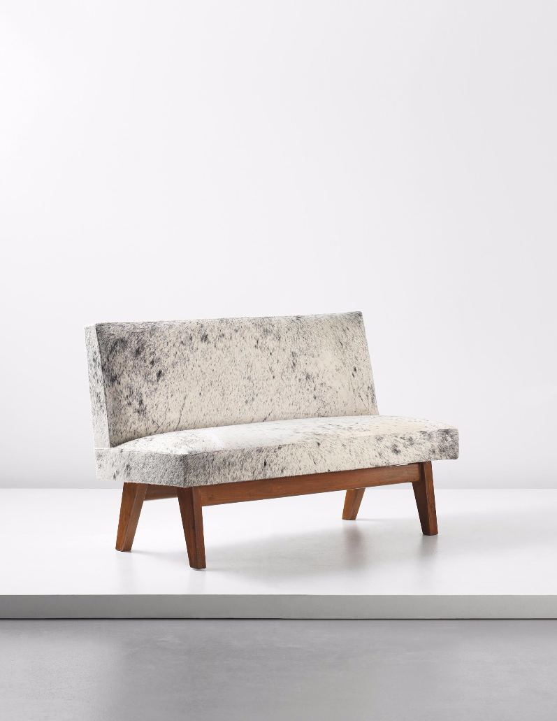 Corbusier Zetel Pierre Jeanneret Bench Model No Pj Si 38 B Designed For The