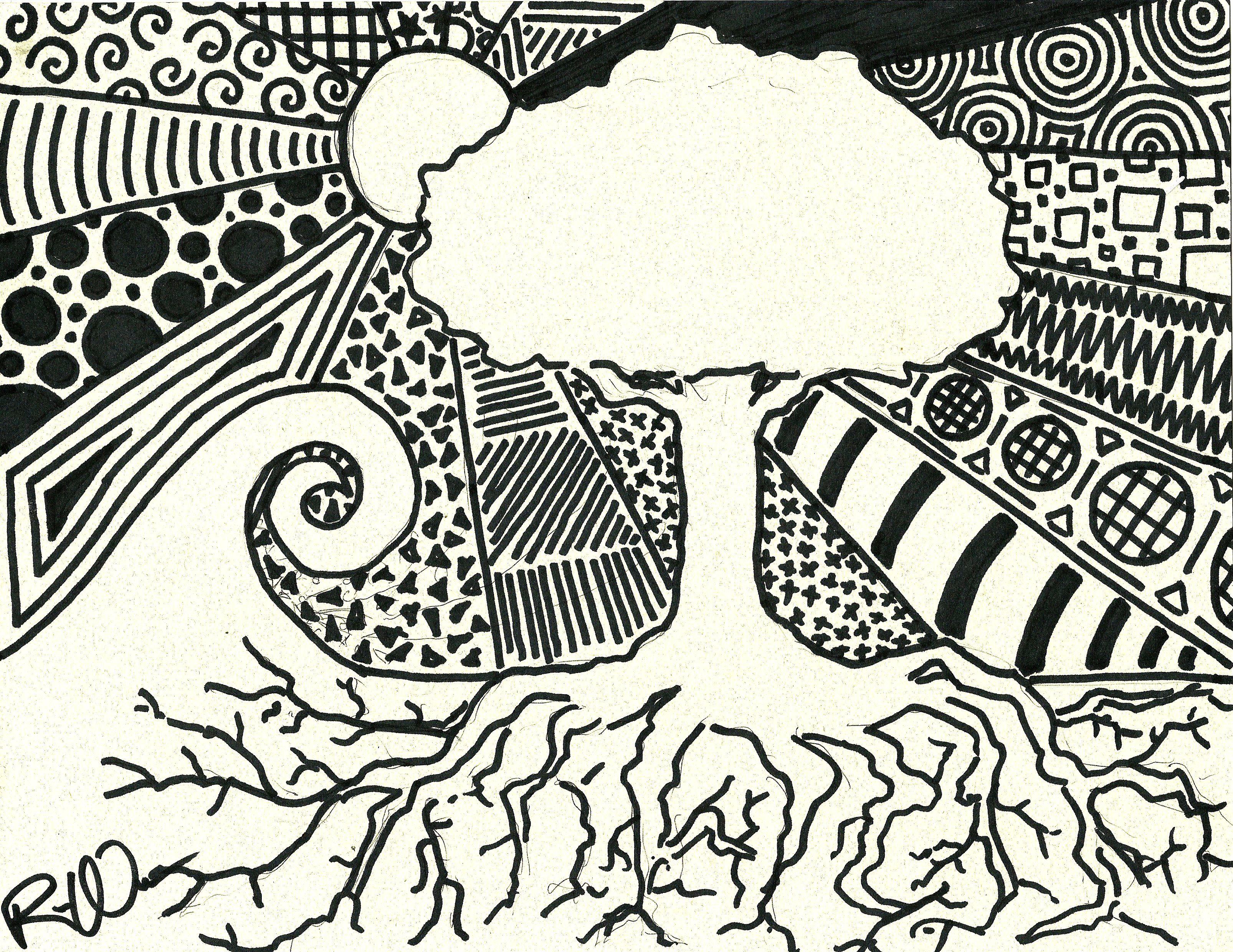 Sharpie Art \u2013 Creative Worship (1) | Sharpie art, Doodles and ...