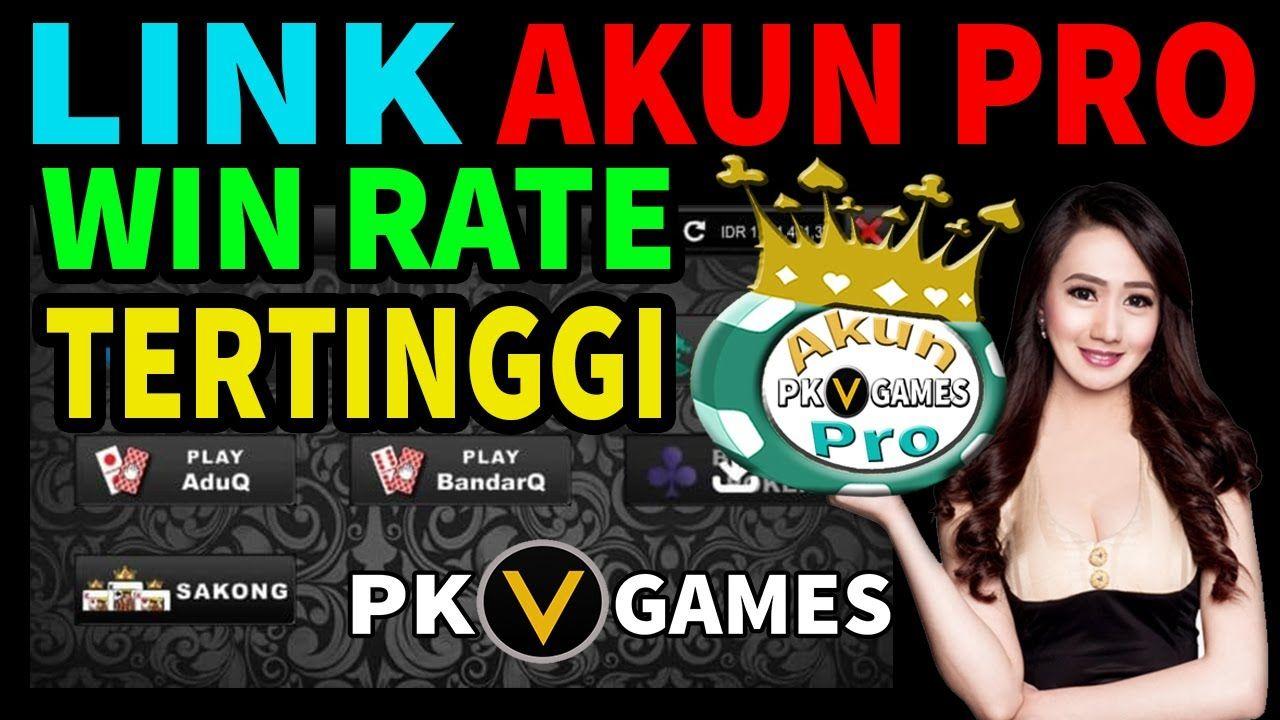 12 Akun Pro Pkv Games Ideas Games V Games Ios Games