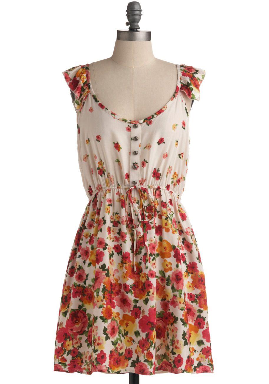 Captivating Cascades Dress