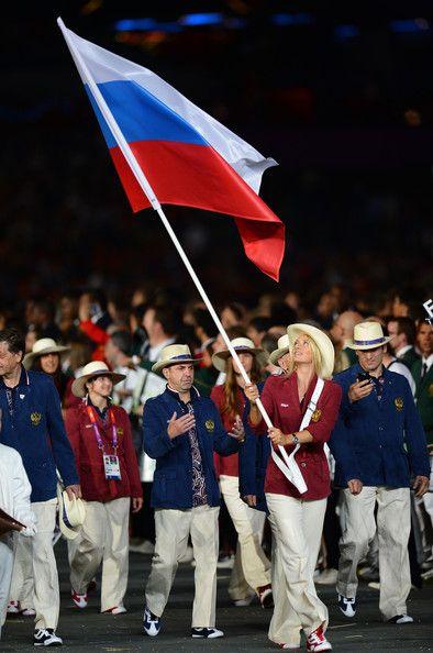 Maria Sharapova Photos Photos 2012 Olympic Games Opening Ceremony Olympics Opening Ceremony Maria Sharapova Olympic Games