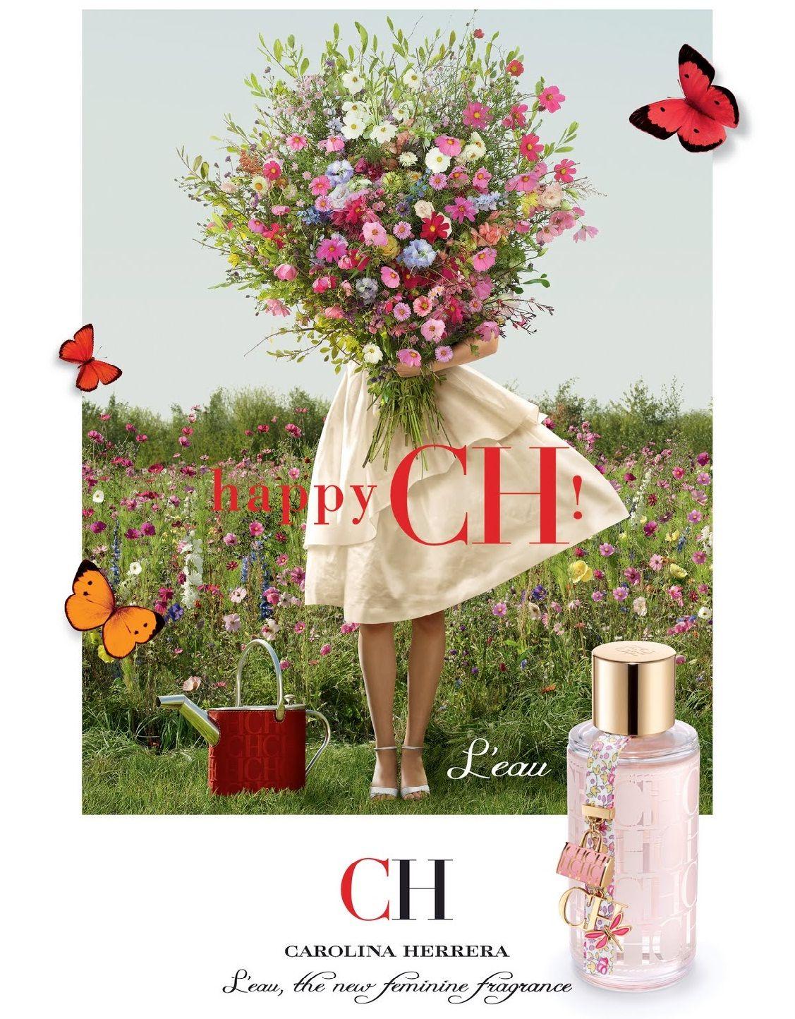 8d8a7d6fdd5 CH L'Eau - Carolina Herrera Flores De Limão, Loções Corporais, Perfume  Masculino