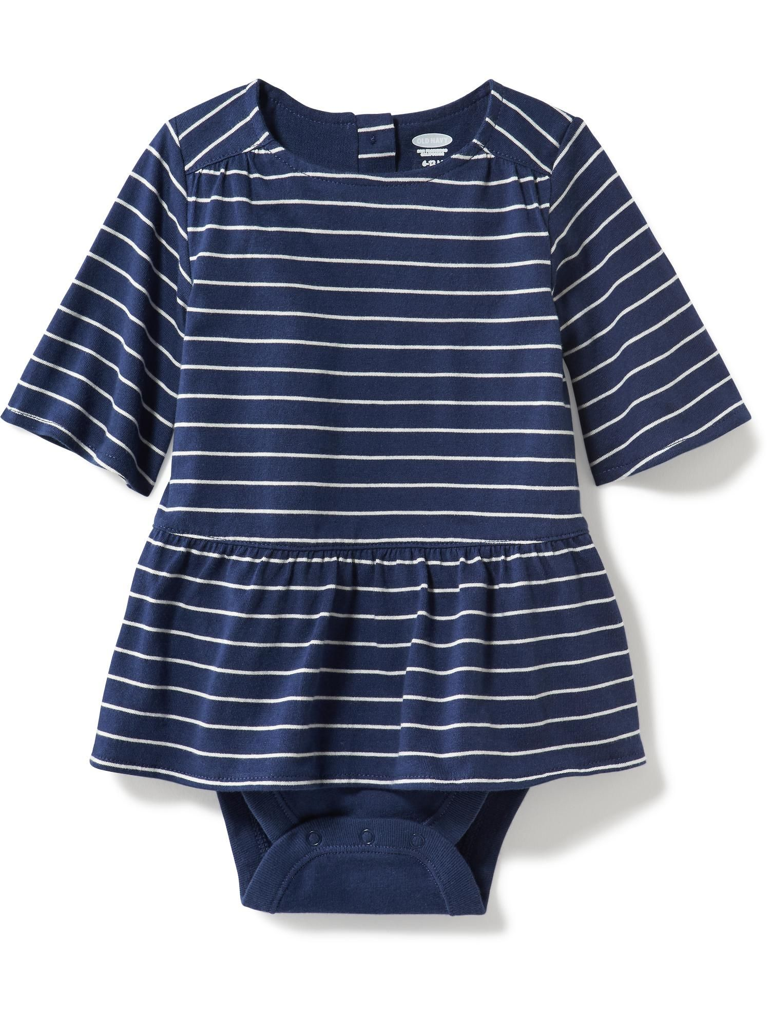 2 in 1 Peplum Bodysuit for Baby Old Navy baby girl 4